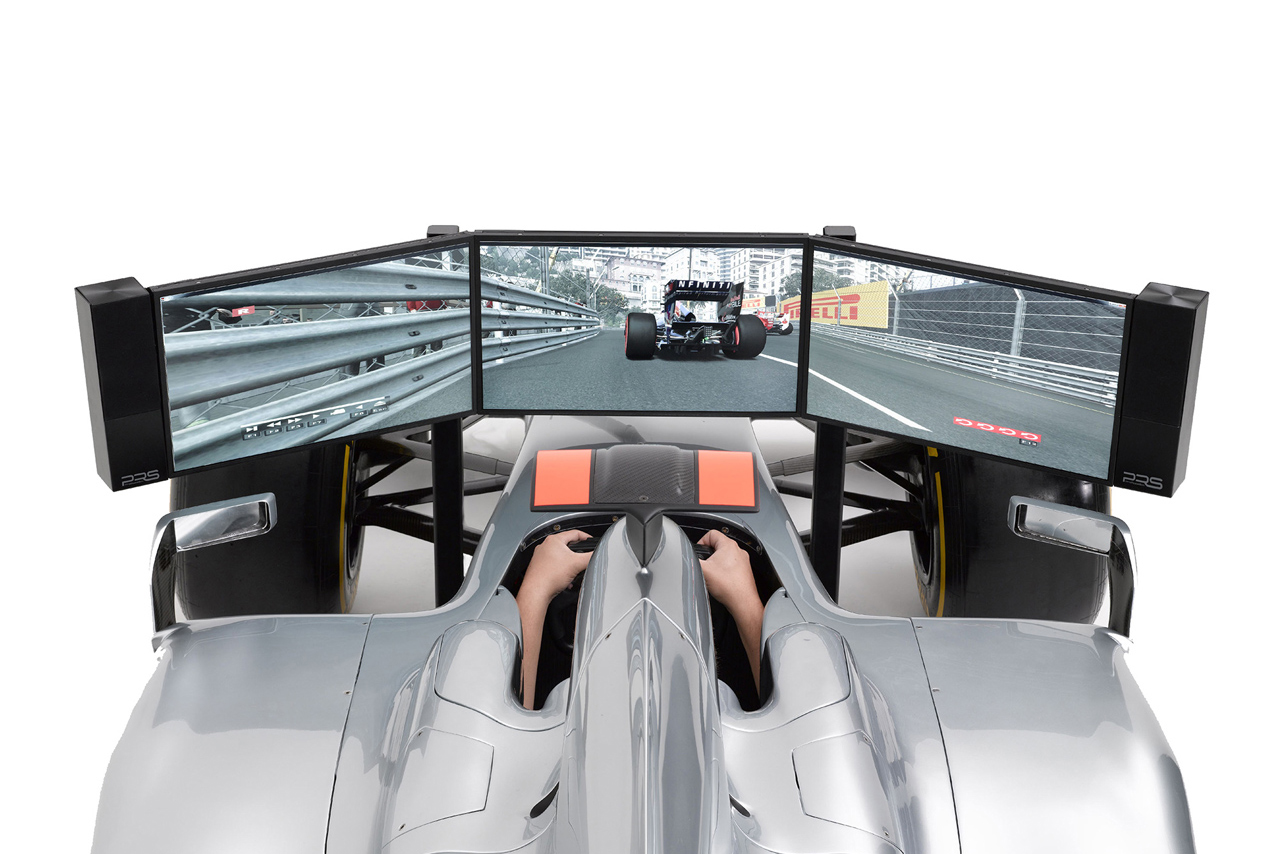 Image of Costco UK Offering This $115,000 Full-Size F1 Simulator