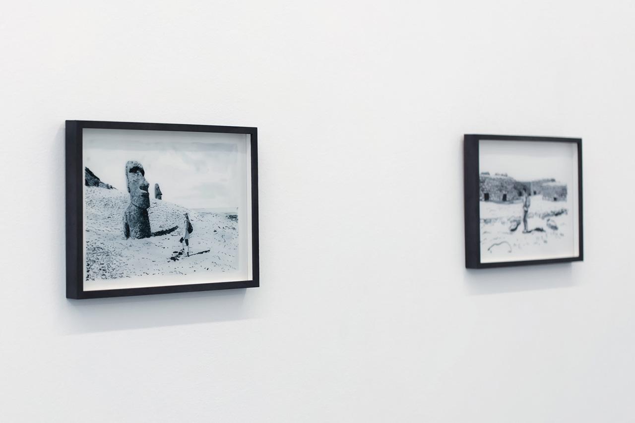 "Image of Daniel Arsham ""Easter Island"" Exhibition Recap at Galerie Perrotin"