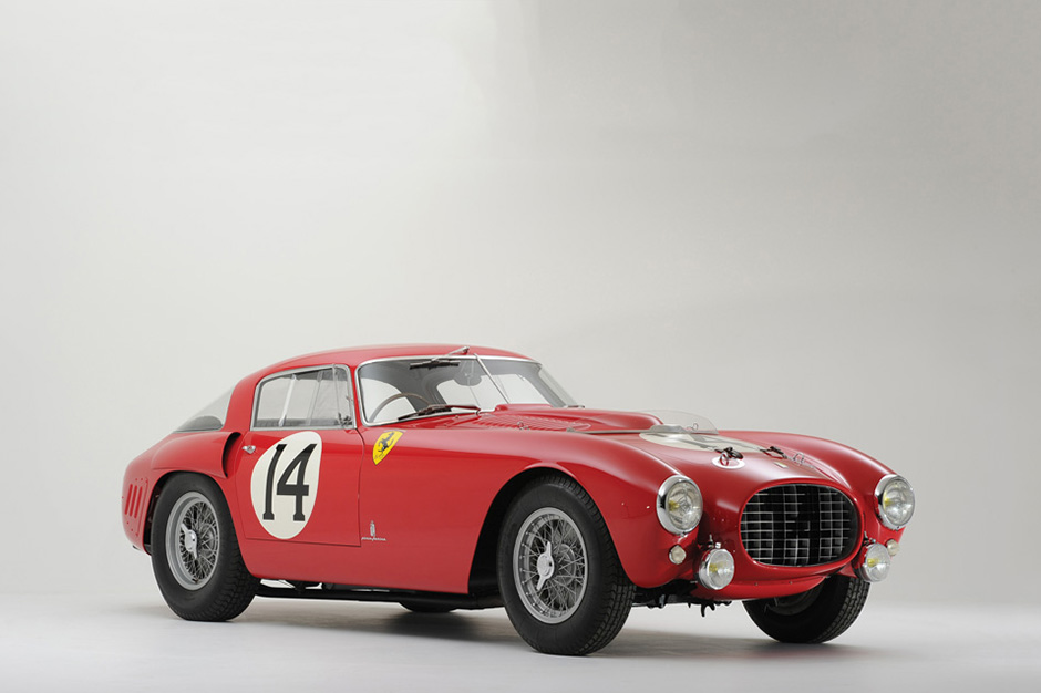 "Image of Ferrari 340/375 MM Berlinetta ""Competizione"" Goes for $12.8 Million USD"