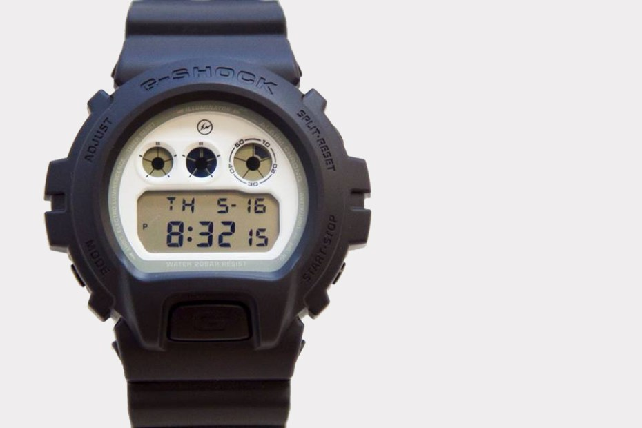 Image of fragment design x Casio G-Shock 30th Anniversary DW-6900 Preview
