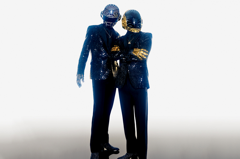 Image of GQ Profiles Daft Punk for its May 2013 Issue