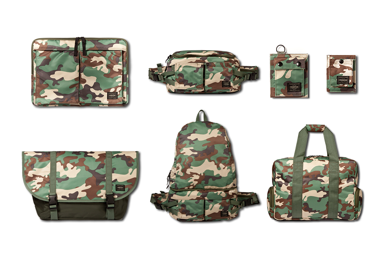 "Image of Head Porter 2013 Spring/Summer ""Camouflage"" Collection"