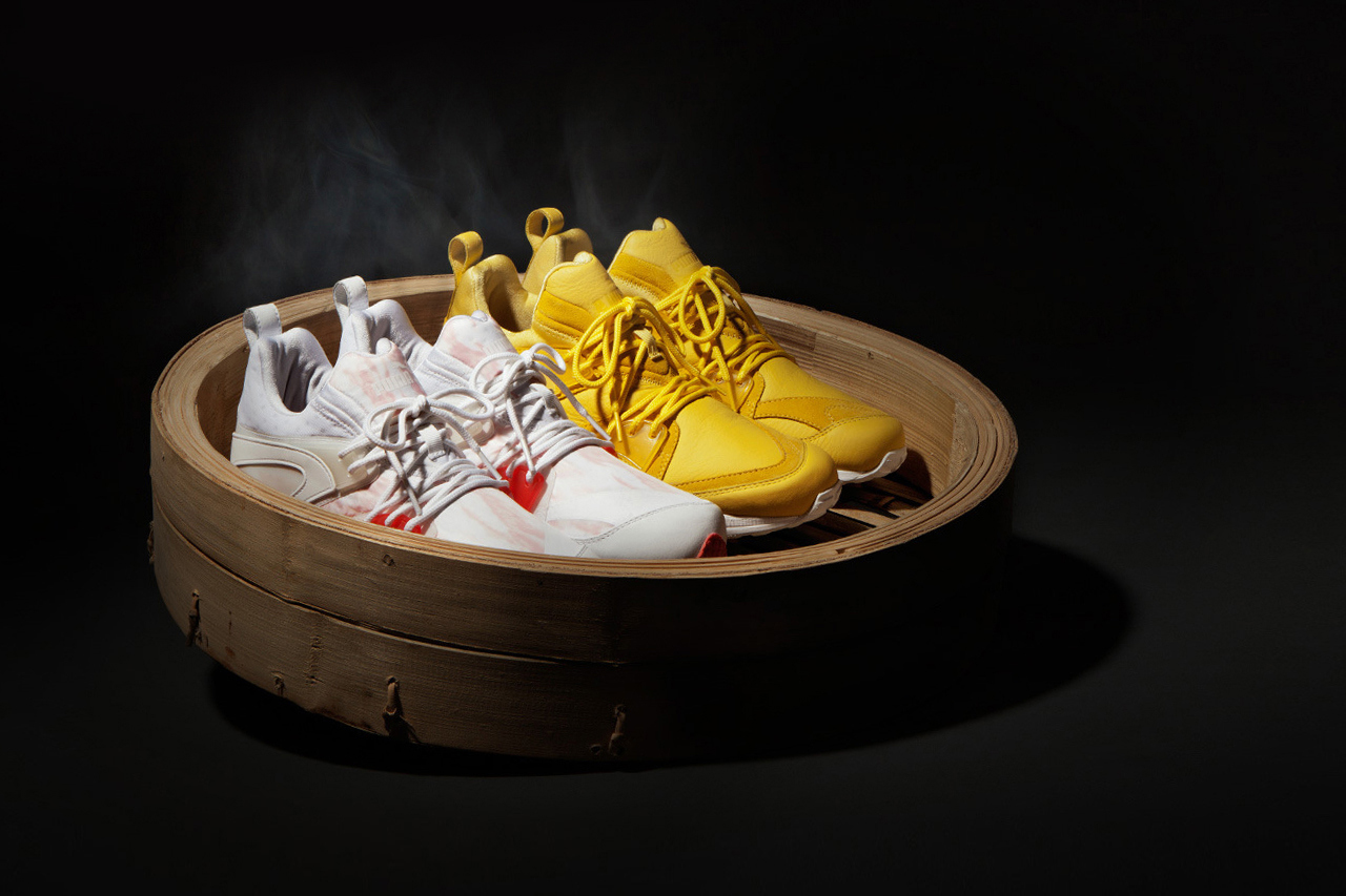 "Image of HYPEBEAST x PUMA ""The Dim Sum Project"" Blaze of Glory OG & LTWT 