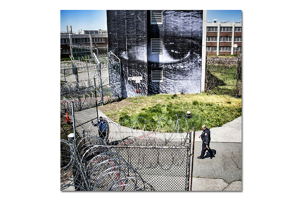 Image of JR Puts Art On Rikers Island Prison