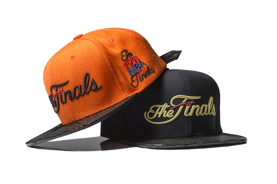 "Image of Just Don 2013 ""The Finals"" Snakeskin Strapback Hats"