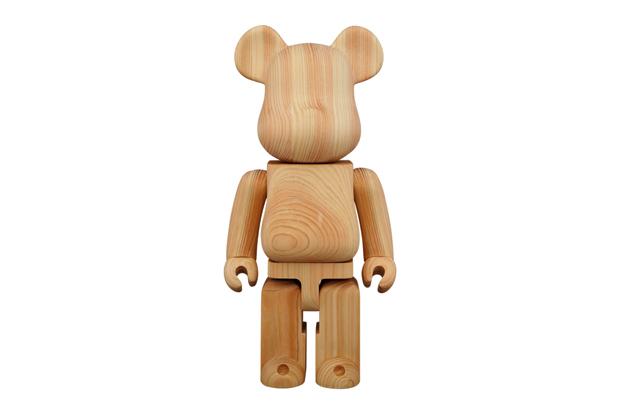 Image of Karimoku x Medicom Toy Hinoki Cypress 400% Bearbrick