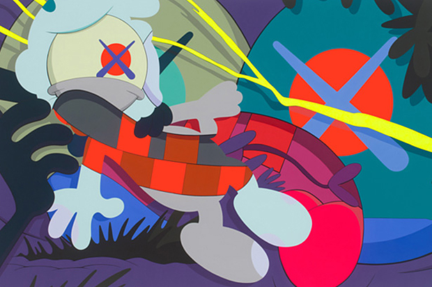 "Image of KAWS ""Ohhh…"" Exhibition @ KaiKai Kiki Gallery New Work Preview"