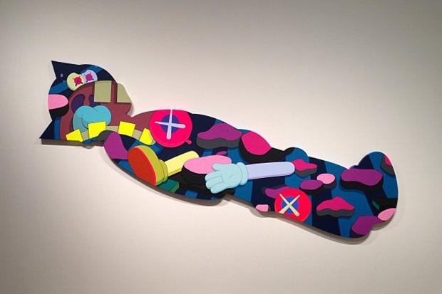 """Image of KAWS """"Ohhh…"""" Exhibition @ KaiKai Kiki Gallery Preview"""