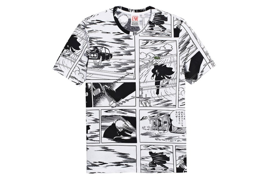 Image of Lacoste L!VE x Osamu Tezuka 2013 Capsule Collection