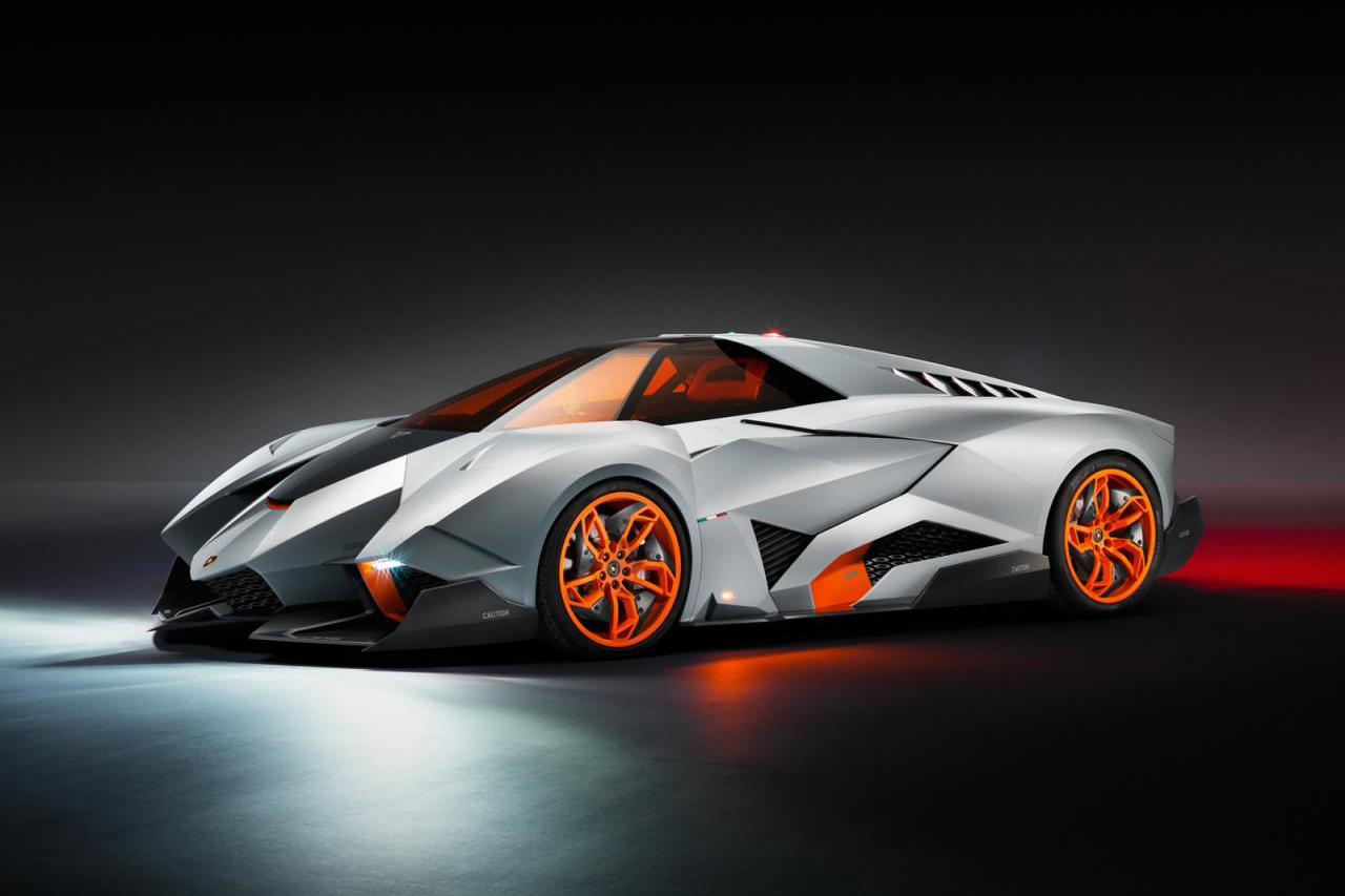 Image of Lamborghini Egoista Concept
