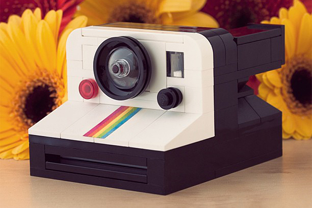 Image of LEGO Polaroid OneStep SX-70 Camera by Chris McVeigh