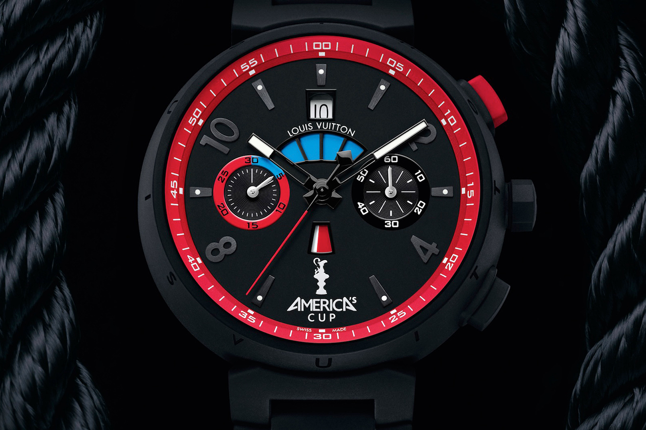 Image of Louis Vuitton Tambour Regatta America's Cup