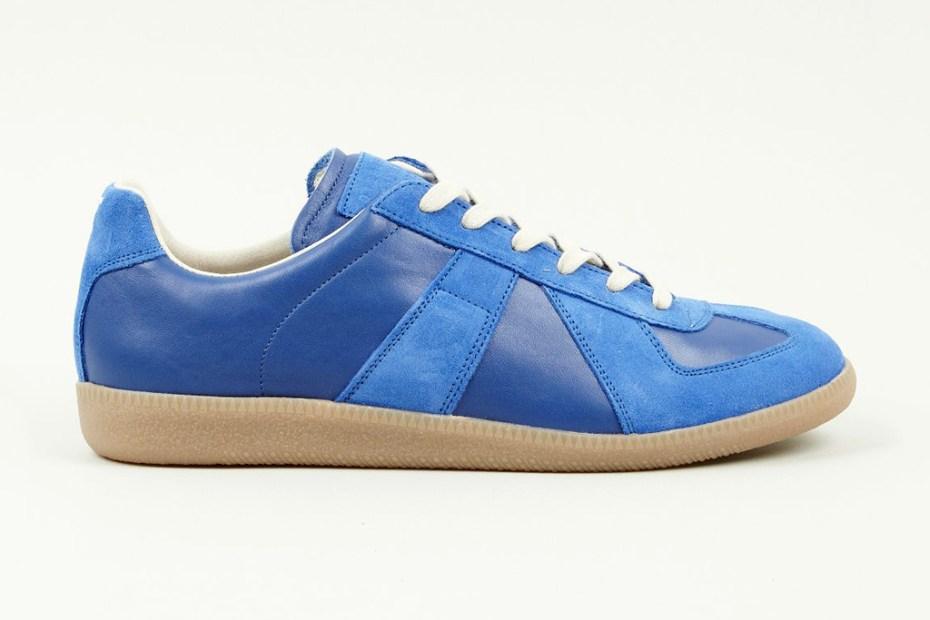 Image of Maison Martin Margiela 2013 Pre-Fall Blue Replica Sneaker