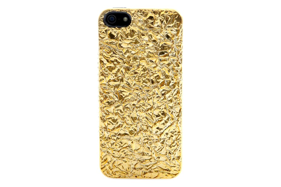 Image of Marc by Marc Jacobs Golden Foil Covered iPhone 5 Case The Golden Ticket