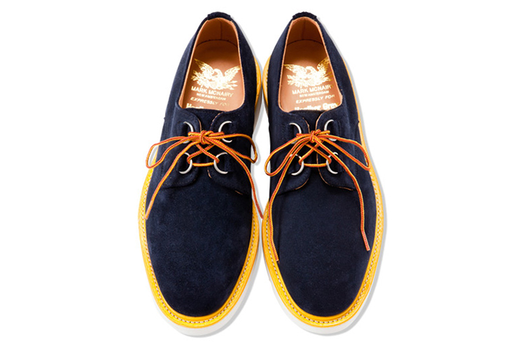 Image of Mark McNairy for Heather Grey Wall 2013 Spring/Summer Creeper Shoes