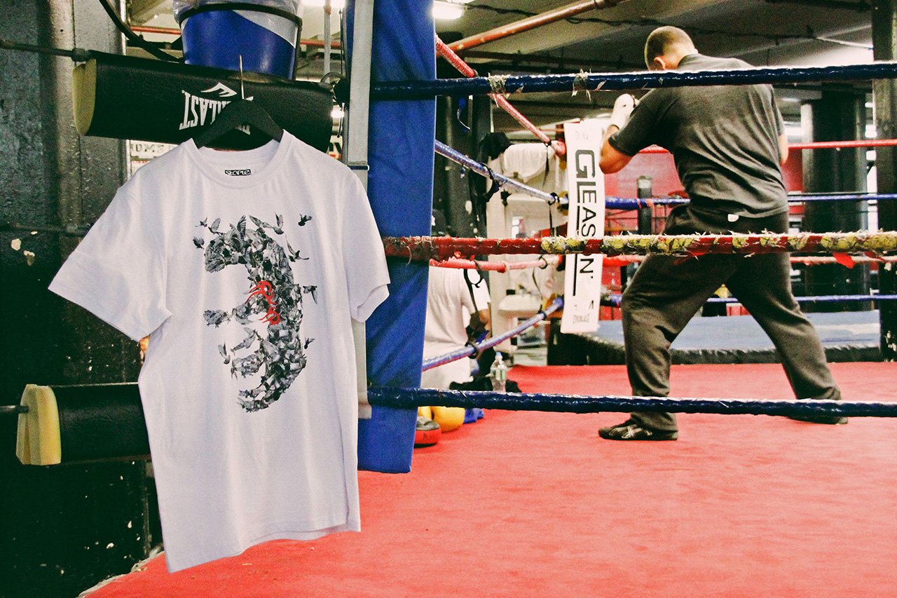 Image of Mike Tyson x Staple T-Shirt Collection