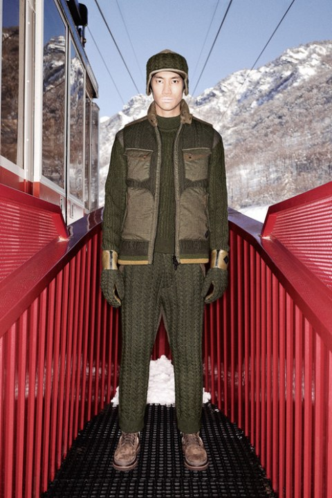 "Image of White Mountaineering x Moncler 2013 Fall/Winter ""Moncler W"" Lookbook"