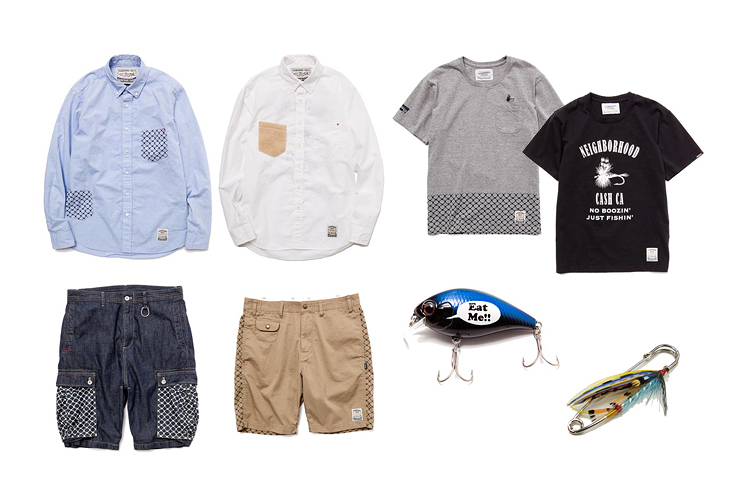 Image of NEIGHBORHOOD x CASH CA 2013 Spring/Summer Capsule Collection
