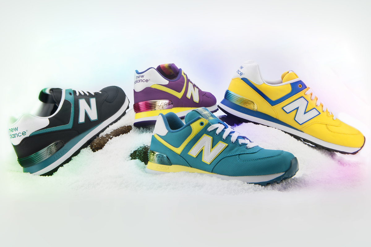 "Image of New Balance 574 ""Alpine"" Pack Preview"