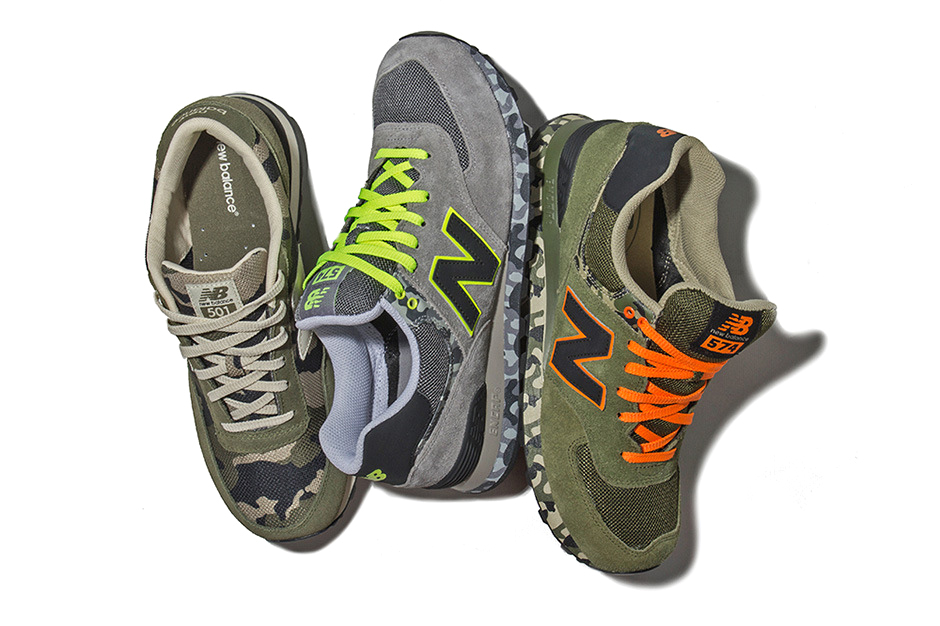 """Image of New Balance 2013 Spring/Summer ML 574 """"Camo Pack"""""""