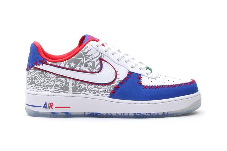 "Image of Nike Air Force 1 Low CMFT Premium ""Puerto Rico"""