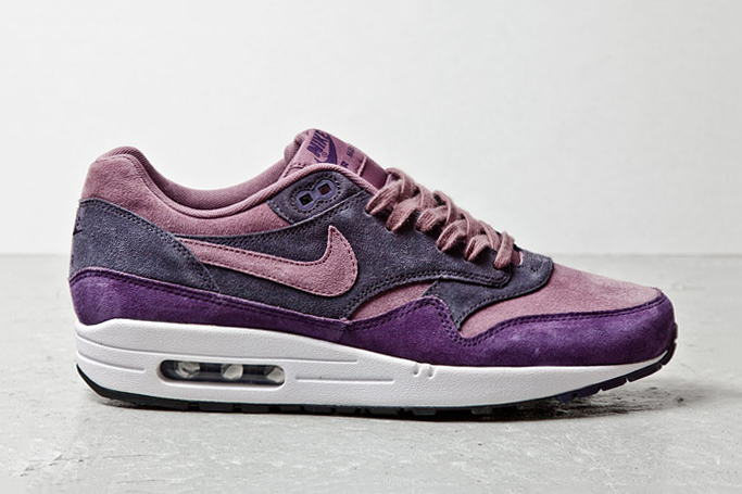 Image of Nike Air Max 1 Purple Suede