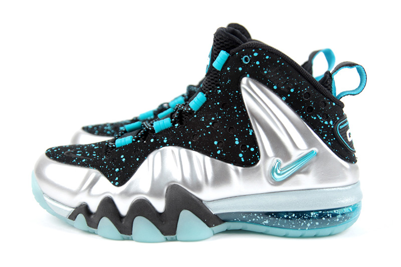 Image of Nike Barkley Posite Max Silver/Gamma Blue