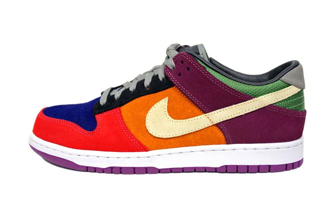 "Image of Nike Dunk Low ""Viotech"" Retro"