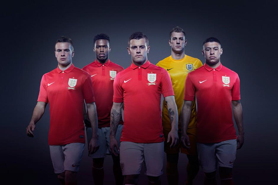 Image of Nike Unveils the 2013 England Away Kit
