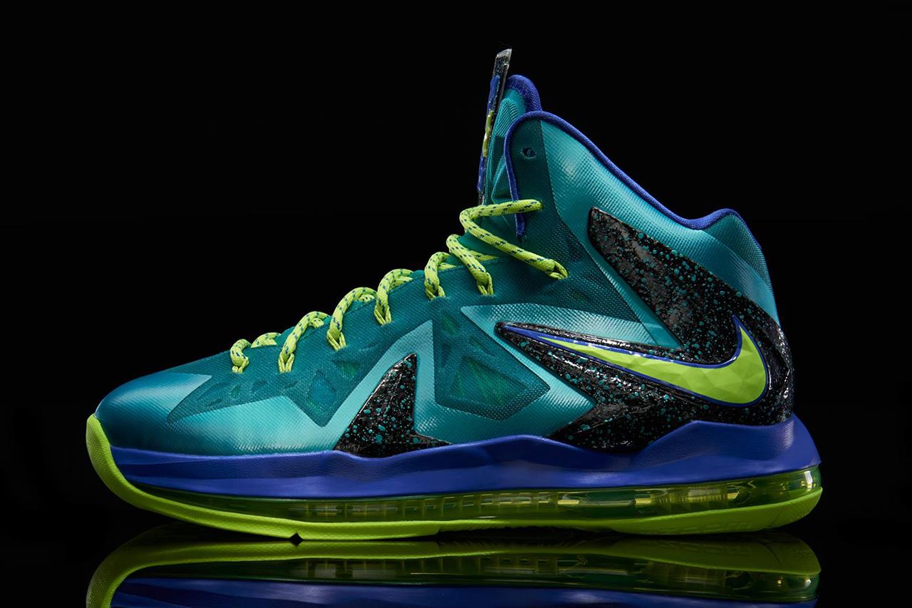 """Image of Nike LeBron X P.S. Elite """"Miami Dade"""""""