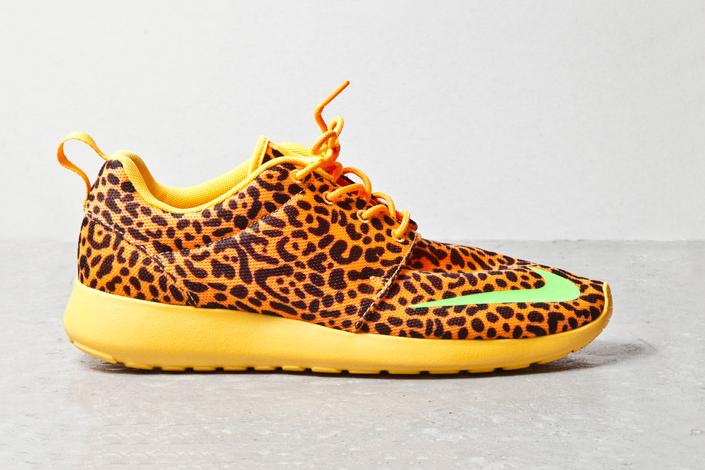"Image of Nike Roshe Run FB ""Orange Leopard"""