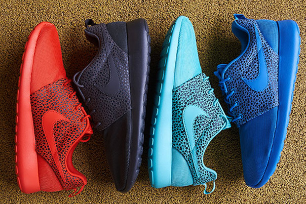 "Image of Nike Roshe Run ""Safari"" Pack"