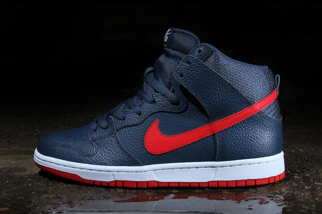 Image of Nike SB Dunk High Pro Squadron Blue