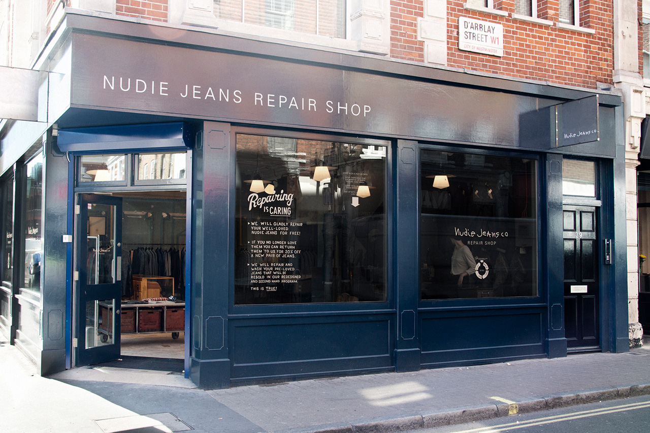 Image of Nudie Jeans Opens Concept Store and Repair Station in London