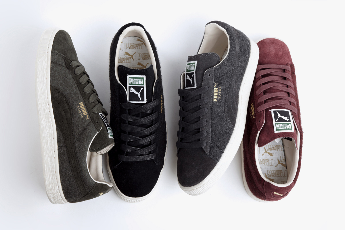 "Image of PUMA 2013 Fall Classic Suede ""Wool"" Pack"