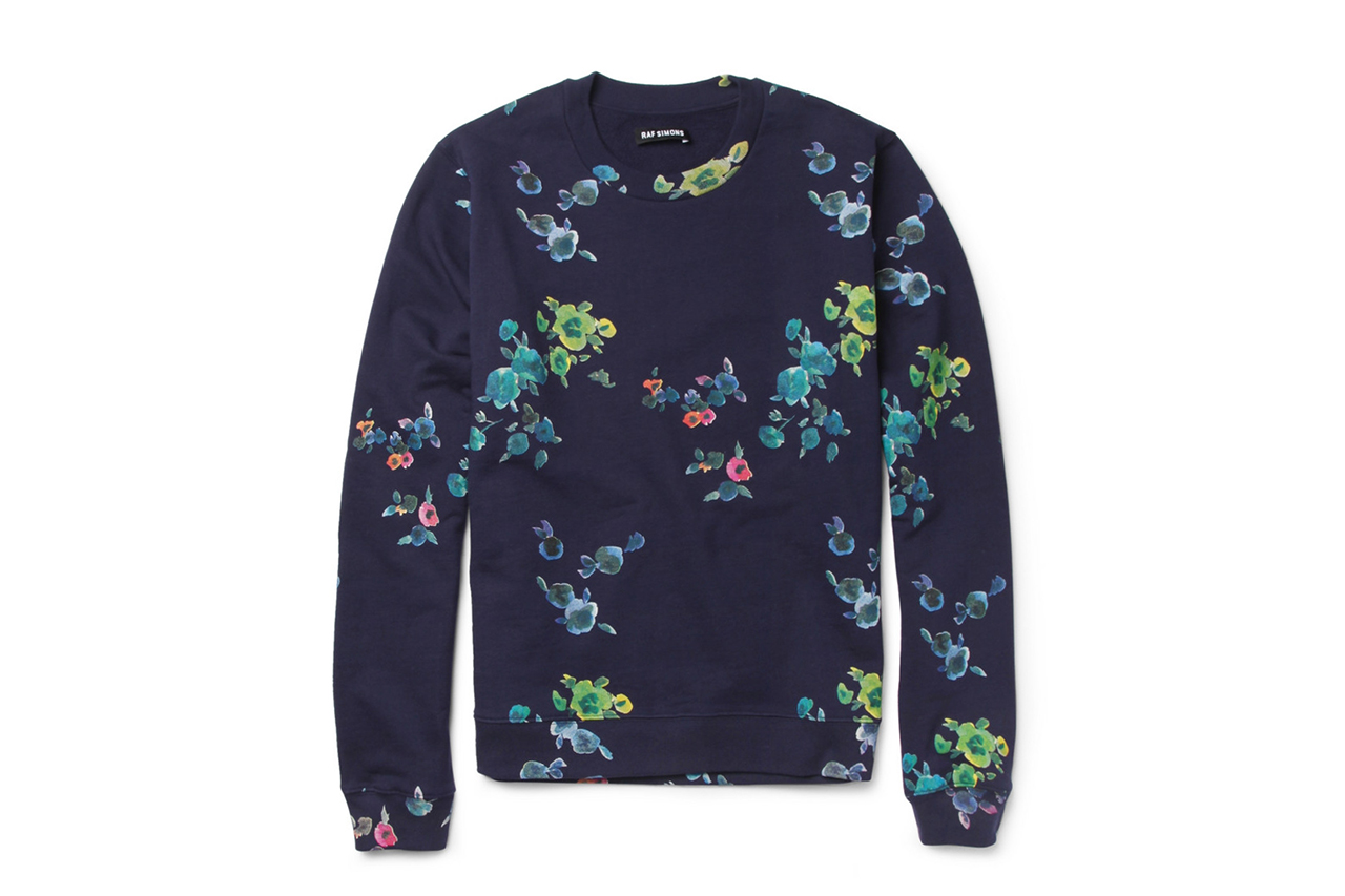 Image of Raf Simons for MR PORTER 2013 Flower-Print Collection