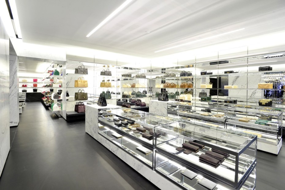 Image of Saint Laurent's Avenue Montaigne Paris Flagship Boutique