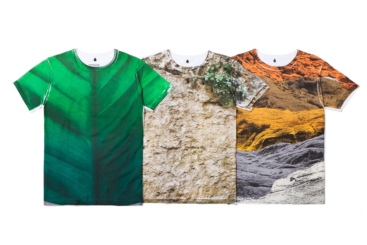 Image of Sangue 2013 Spring/Summer Hand-Printed T-Shirts