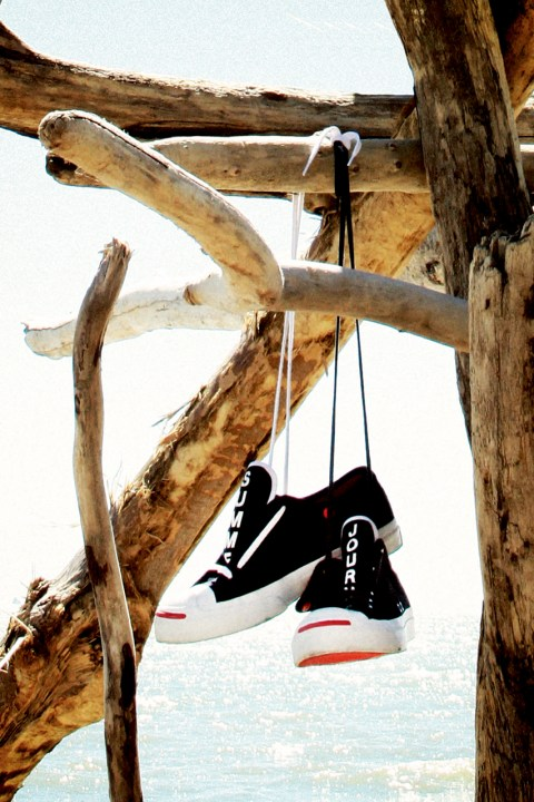 "Image of Slam Jam x Converse First String Jack Purcell ""Summer Journey"" Lookbook"