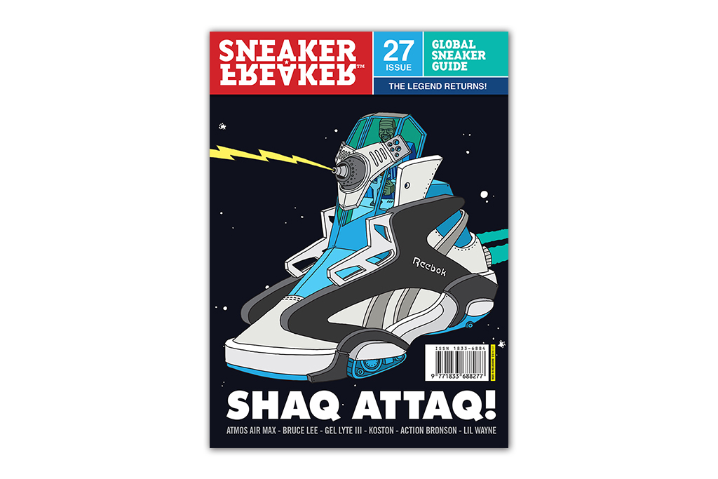 Image of Sneaker Freaker Issue 27 Previews New Projects from St. Alfred, Ronnie Fieg, Concepts & Foot Patrol