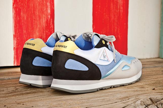 """Image of Sneaker Freaker x le coq sportif Flash """"Summer Bay"""""""