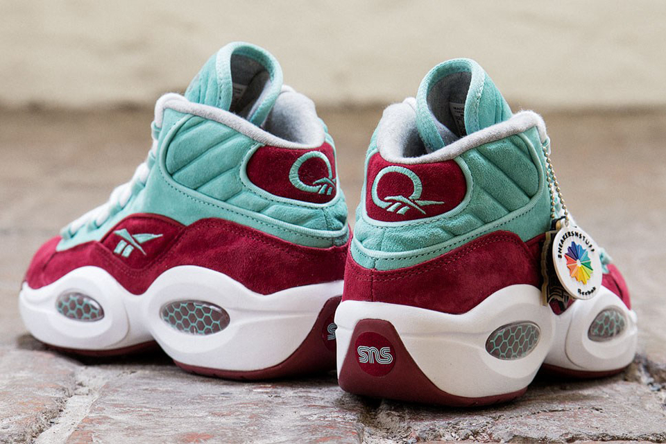 "Image of Sneakersnstuff x Reebok Question Mid ""A Shoe About Nothing"""