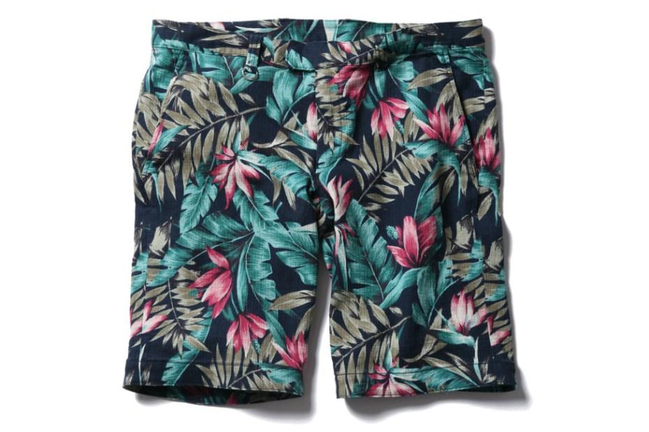 Image of SOPHNET. 2013 Summer Flower Pattern Short Pant