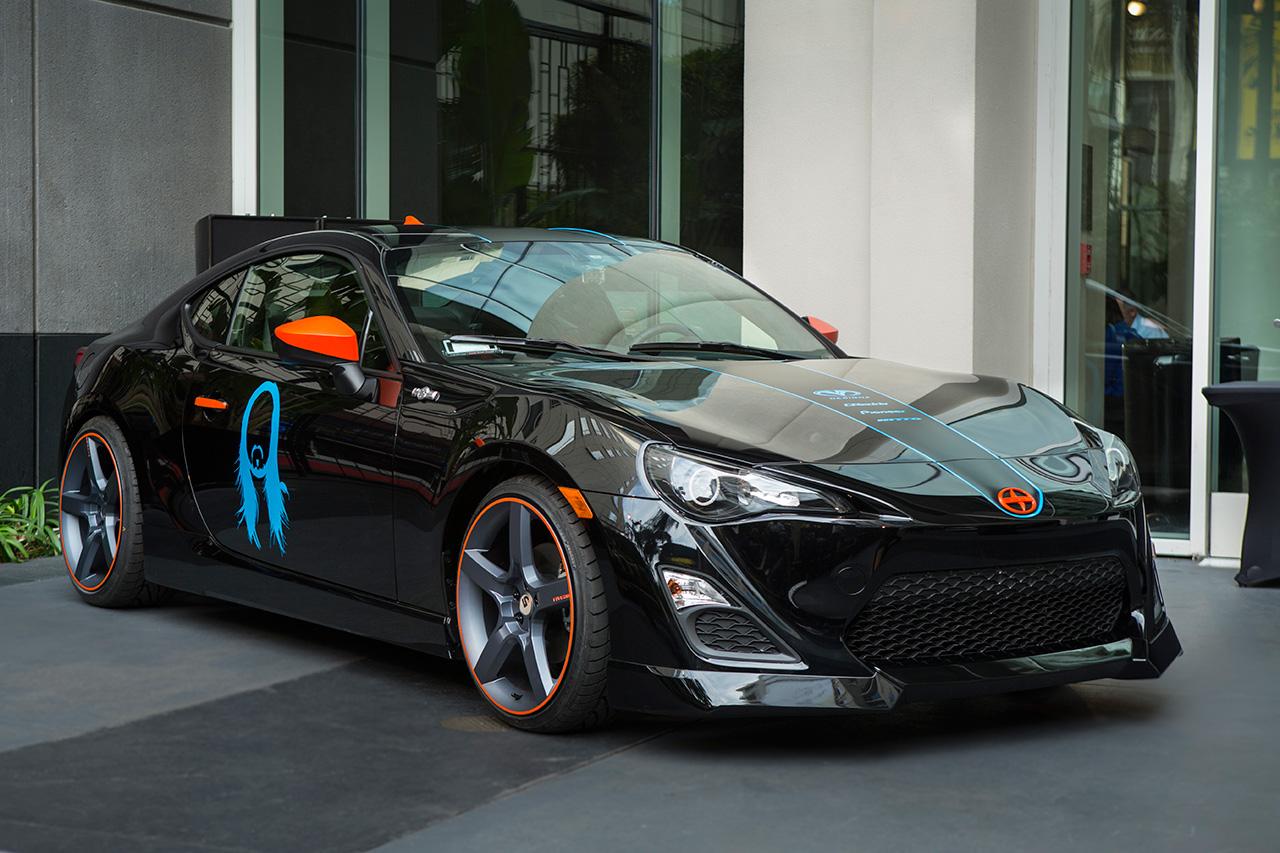 Image of Steve Aoki Scion FR-S Art Car