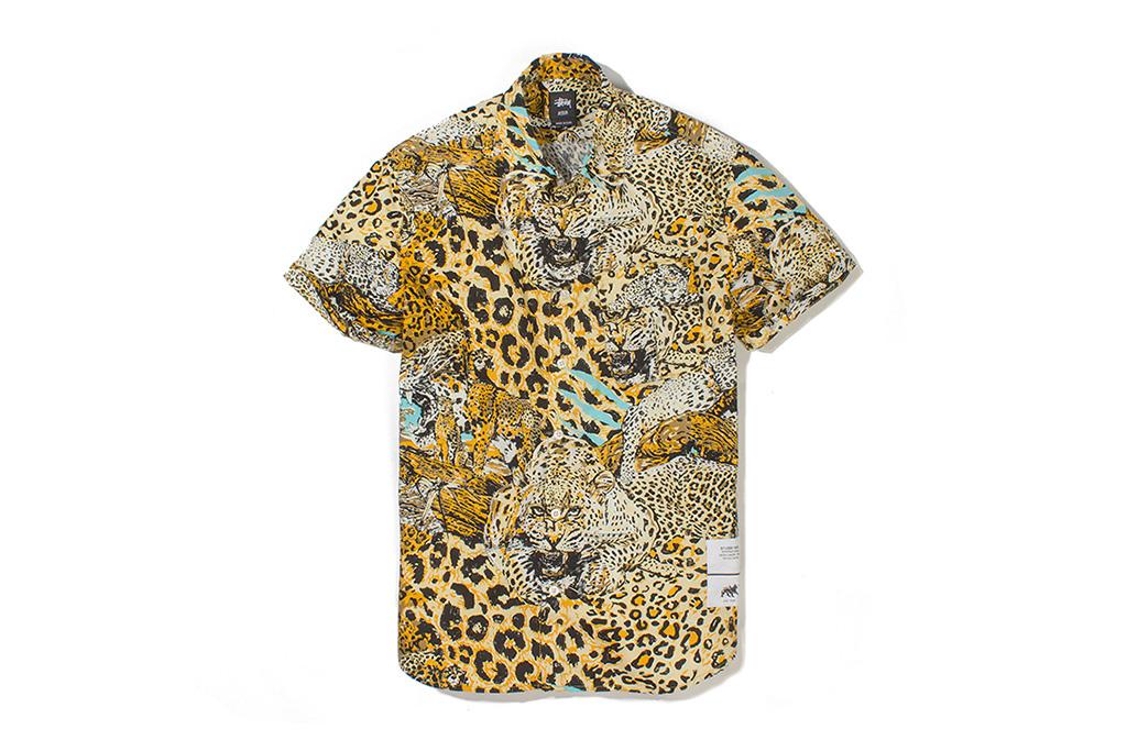 "Image of Stussy ""Wildlife"" Button-Up Shirt"