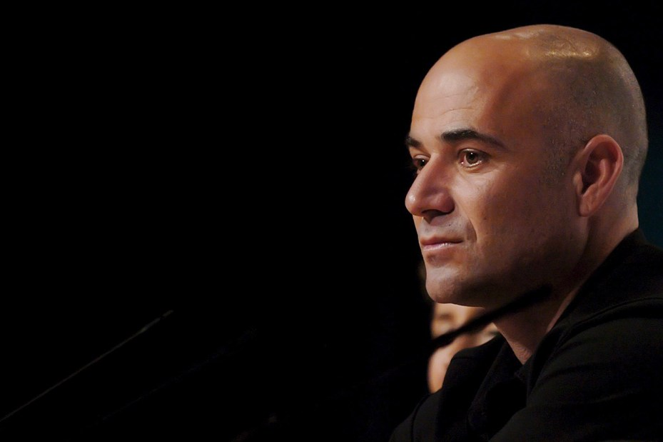 Image of Nike Welcomes Back Andre Agassi to the Family
