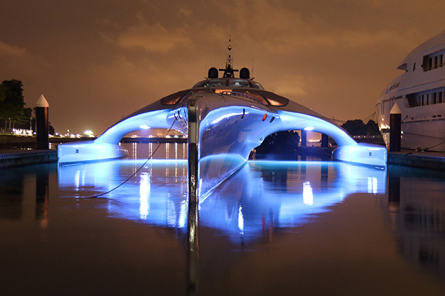 Image of The Adastra Superyacht by John Shuttleworth