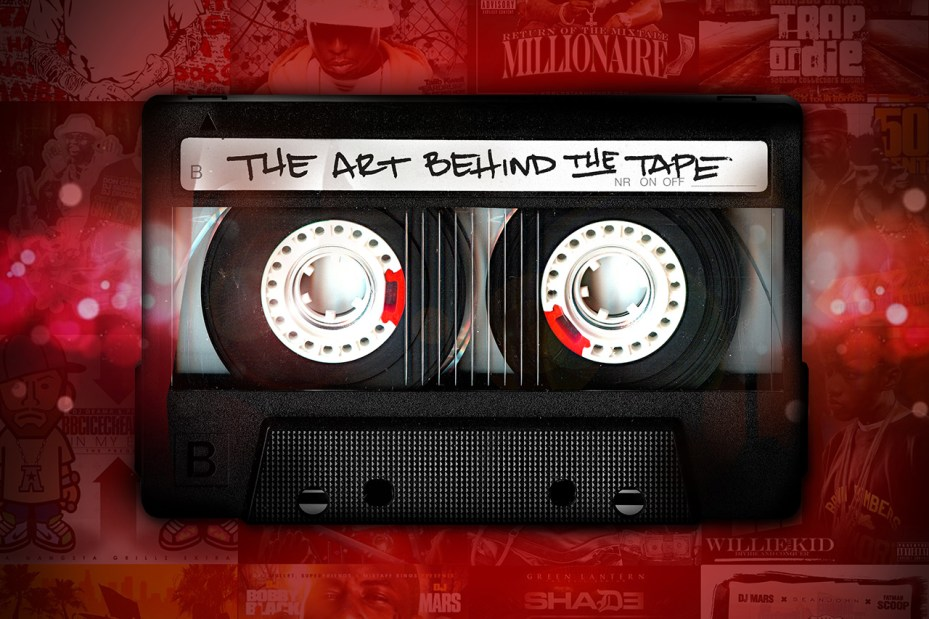 Image of 'The Art Behind The Tape' Mixtape Cover Art Book