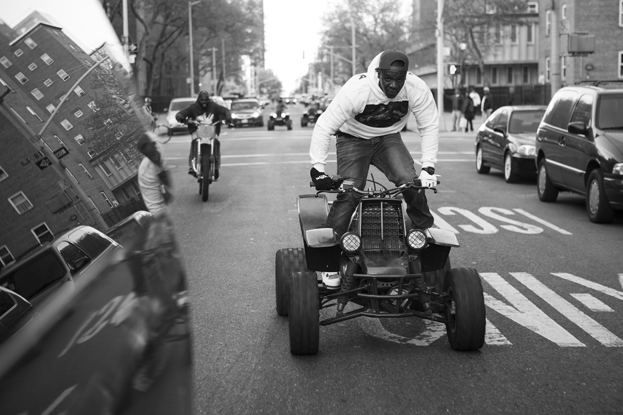 Image of The Real Bike Life: A$AP TyY Offroads in the Big Apple
