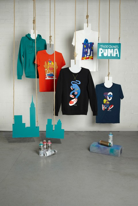 Image of Todd James x PUMA 2013 Fall/Winter Capsule Collection